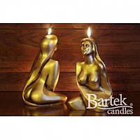 """Свічка святкова для закоханих """"Wenus"""" SW490, розмір 300 мм, парафін / стеорін, свічка для свята, подарункова свічка"""
