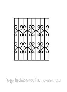 Оконные сварные решетки металлические