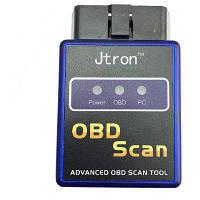 Jtron универсальная беспроводной OBD-II диагностический сканер Bluetooth ELM327 V1.5 Синий