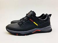 Мужские кроссовки Ecco черные 2