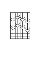 Металлическая оконная решетка