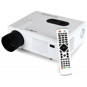 Светодиодный проектор Excelvan CL720D со слотом цифрового телевидения - Белый