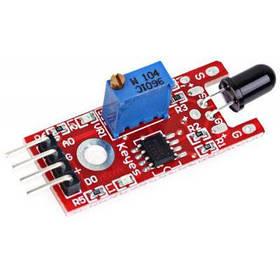 Практический модуль датчика обнаружения пламени для Arduino