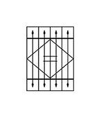 Решетки оконные сварные металлические