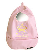 Слюнявчик Elodie Details - Petit Royal розовый
