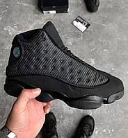 """Баскетбольные кроссовки Nike Air Jordan 13 Retro """"Black Cat"""""""