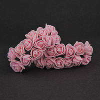 Розы из фоамирана, упаковка 144 шт, диаметр - 1,5 см