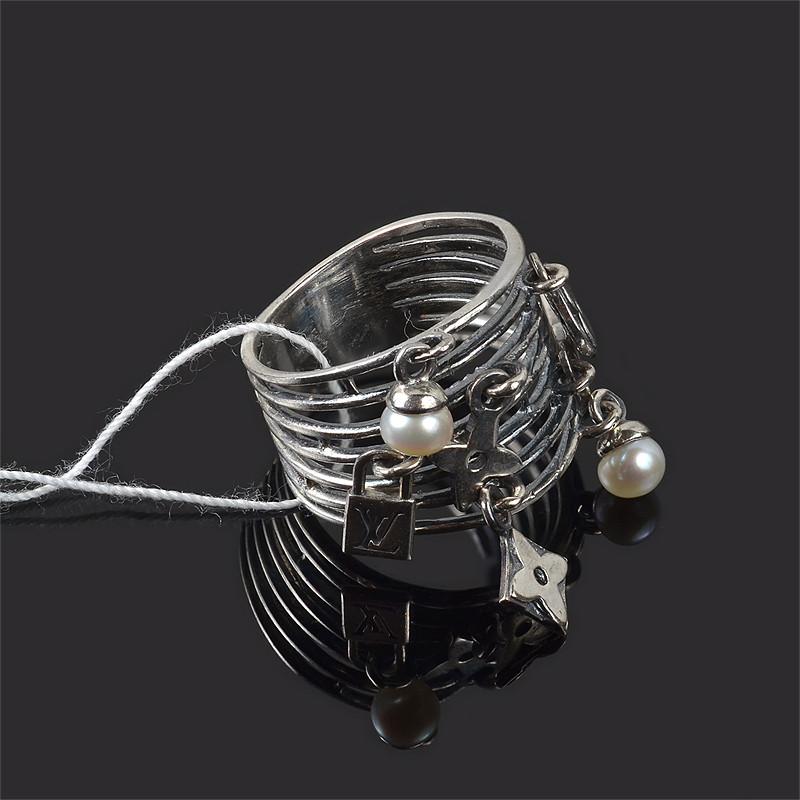 Серебряное кольцо Луи Витон Ирида