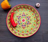 Блюдо для плова d 37 см. Узбекистан