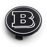 Колпачки для литых дисков Mercedes BRABUS 75мм