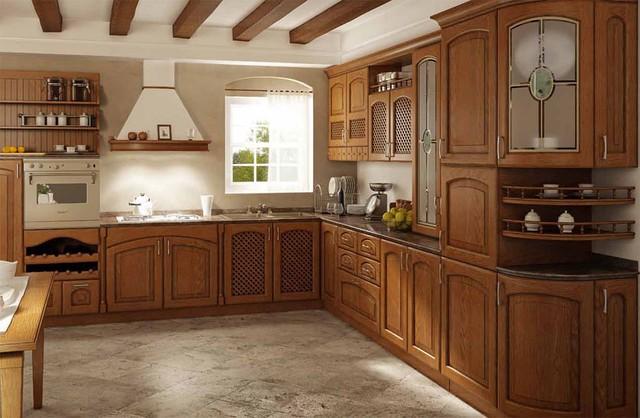 Деревянная кухня под заказ Киев, цена, фото, недорого