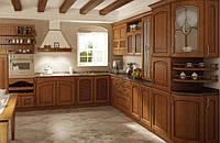 Деревянная кухня под заказ Киев