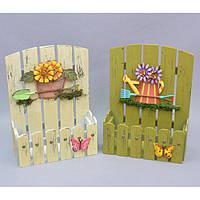 """Подставка под цветы """"Весеннее настроение"""" FF1016, материал - дерево, размеры - 28*23*10 см, декор для дома, декорирование дома, аксессуары для дома"""