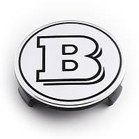 Колпачки для литых дисков Mercedes BRABUS 75мм, фото 1