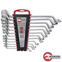 Набор ключей накидных Intertool HT-1103 12шт