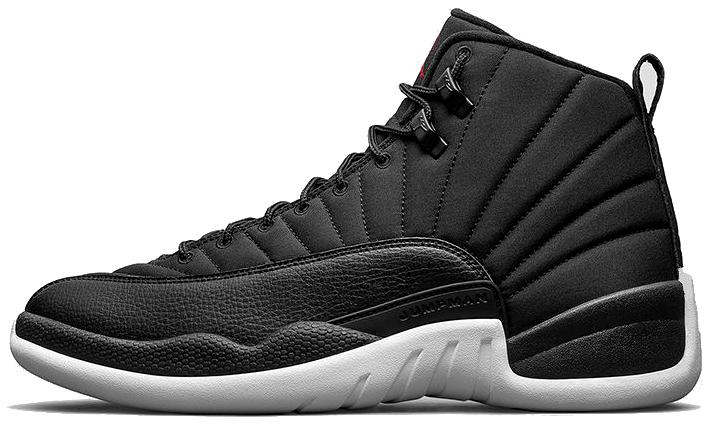 Баскетбольные кроссовки Nike Air Jordan 12 Retro Black Nylon, фото 2