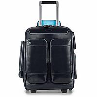"BL SQUARE/N.Blue  Чемодан-рюкзак на 2 колесах с замком TSA и чехлом д/ноутбука15""/iPad®Air/Air2 (22"