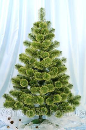 Сосна искусственная зеленая 4 метра Распушенная, фото 2