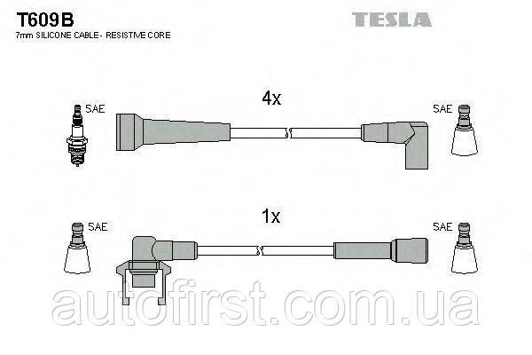 Tesla T609B Высоковольтные провода Volvo, Renault