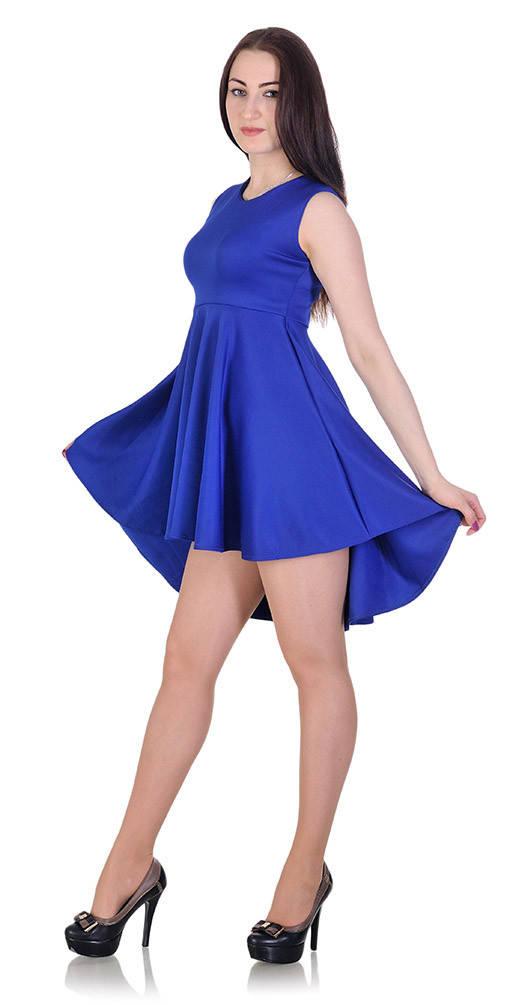 Платье-сарафан электрик