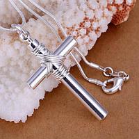 Кулон Silver Angel ювелирная бижутерия покрытие серебро 925 проба