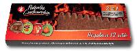 Спички длительного горения Czechowice в картонной выдвижной упаковке 12 шт.