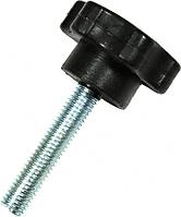 Ручка-звездочка для твердотопливного котла M10*40 с внеш. резьбой