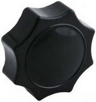 Ручка-звездочка для твердотопливного котла M8 с внутр. резьбой (карболит, восьмигранная, Ø40мм)