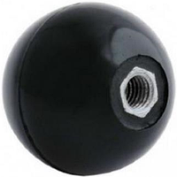 Ручка-шар для твердотопливного котла M8 с внутр. резьбой (карболит, диаметр 35мм)