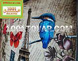 """Одинарный коврик с 3D печатью """"Париж"""" в ванную 80х50 см., фото 4"""