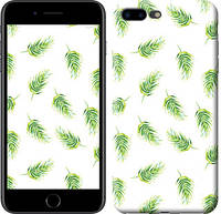 """Чехол на iPhone 7 Plus Пальмовые ветки """"3581c-337-10409"""""""