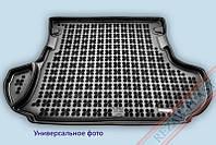 Коврик в багажник Фиат Добло Макси (Fiat Doblo Maxi) 2008-2010 г. (5 мест, полиуретан)