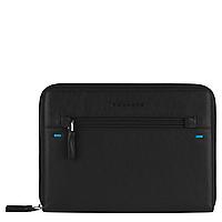 PIKE/Black  Чехол для iPad/iPad Air/Air2 на молнии (26x19x2)