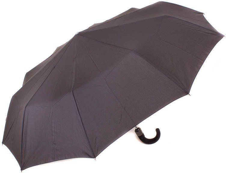 Мужской зонт полуавтомат Zest z13960 чёрный