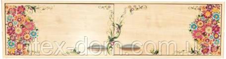 Навес междустоечный ДЭМИ под парту СУТ.15 (СМД-05), клен с рисунком (цветы, фрегат)купить в Киеве и