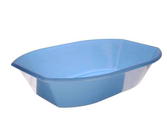 Салатник пл. 2л блакитний ТМКОНСЕНСУС, фото 2