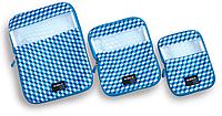 Набор органайзеров для багажа LUGGAGE/Light Blue