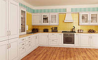Кухонная мебель, кухни из массива ясеня под заказ Киев, фото 1