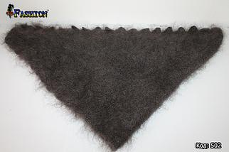 Оренбургский пуховый платок-косынка Беатриса 130х90, фото 3