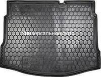 Коврик в багажник Ситроен С4 Кактус (Citroen C4 Cactus) с 2015 г. (полиуретан)