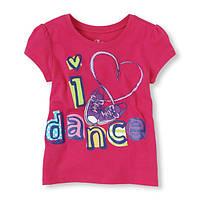 Детские футболки с принтом для девочек я люблю танцы