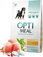 Optimeal Maxi Adult Dog для взрослых больших пород, 4 кг