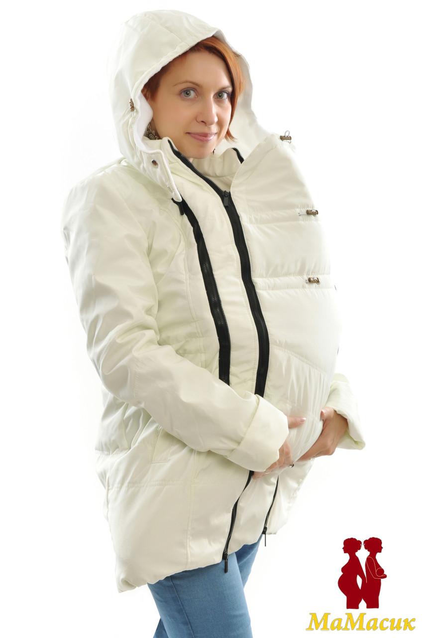Слингокуртка зимняя теплая - HAPPY MAMA - одежда для беременных и кормящих,  одежда для детей a953e77de8d