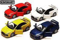 "Машина метал. ""Kinsmart"" ""Mitsubishi Lancer Evolution X"" в кор."