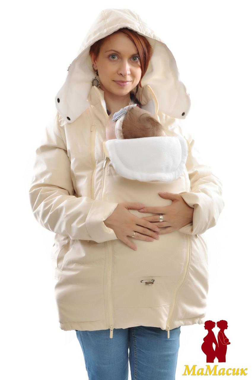 Куртка зимняя теплая для беременных - HAPPY MAMA - одежда для беременных и  кормящих, одежда 8afdc9fb560