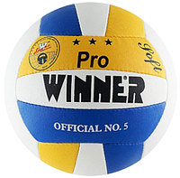 Волейбольный мяч Winner PRO (желто-синий)