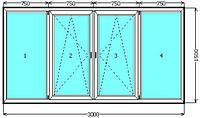 Балкон WDS в Киеве купить недорого. Лоджия WDS Galaxy, WDS 400, WDS 505  Киев. Цены на балконы Киев