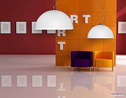 Дизайнерская лампа с двухсторонним покрытием O70 см