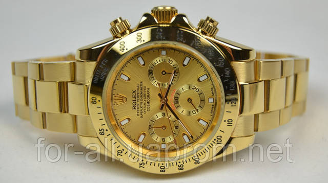 ROLEX DAYTONA GOLD -копия часов Люкс
