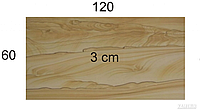 Плита из песчаника Hogar Brown wood 60x120